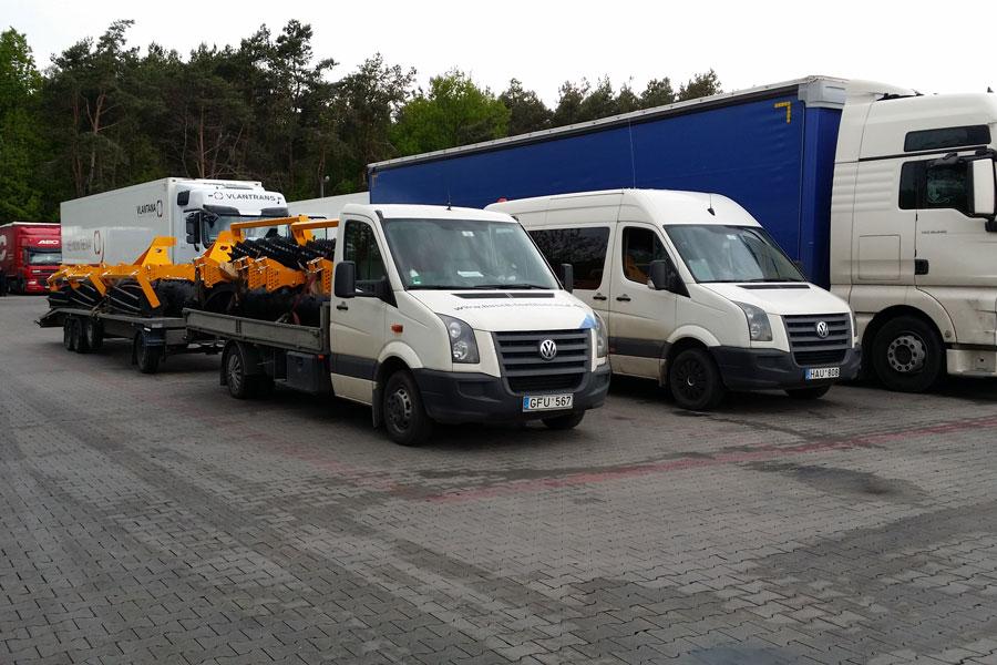 Krovinių pervežimas visoje Lietuvoje