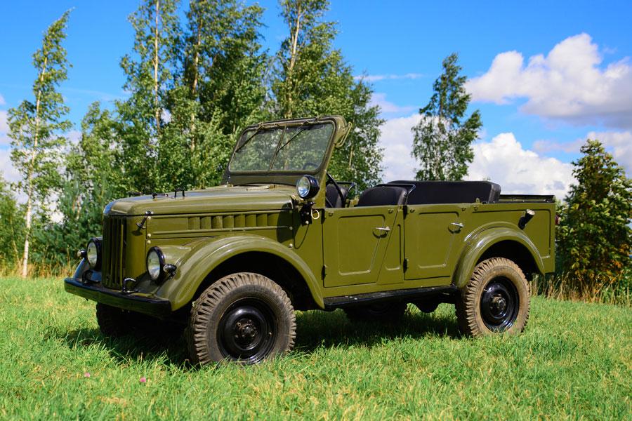 Automobilio nuoma Gaz 69 A (Cabrio)