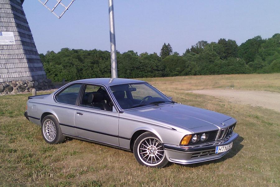 BMW 635 CSI (kupė) automobilio nuoma Radviliškis