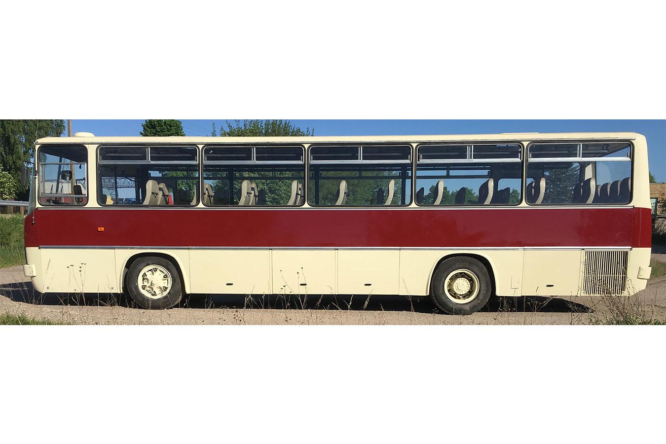 Senovinio autobuso Ikarus 256 nuoma visoje Lietuvoje